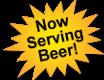 Now Serving Beer